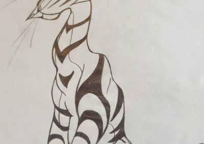 Surreal Tiger