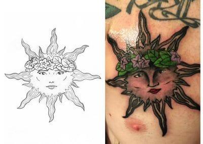 Solar Tattoo