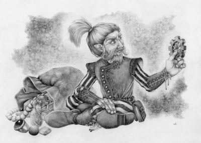Gnomish Treasure - Original