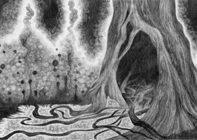 Drawtober 2018, Day 20 - Poisoned Hollow