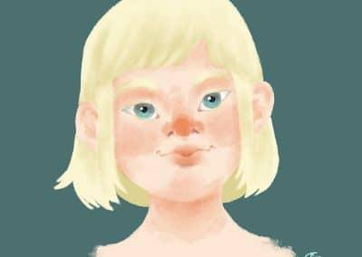Icelandic Child Concept Art