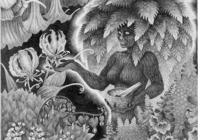 Witch's Garden - Original