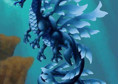 "Aquamarine - 14x11"" First Edition"